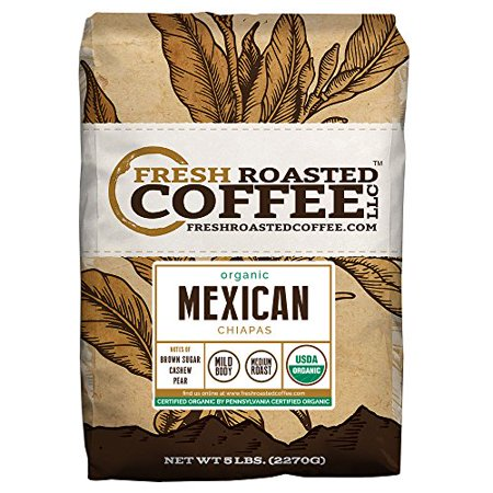 Mexican Chiapas Organic Coffee, Whole Bean, Fresh Roasted Coffee LLC (5