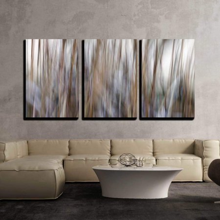 wall26 - 3 Piece Canvas Wall Art - Background. Abstraction. Blurred ...