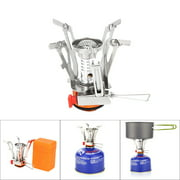 Hotwon Ultralight Portable Outdoor Backpacking Camping Stove with Piezo Ignition