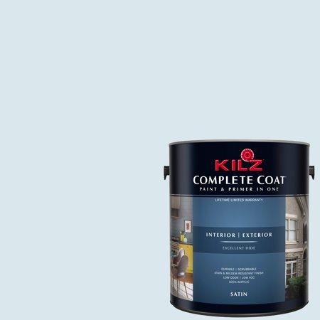 KILZ COMPLETE COAT Interior/Exterior Paint & Primer in One #RE170-01 Clean Air