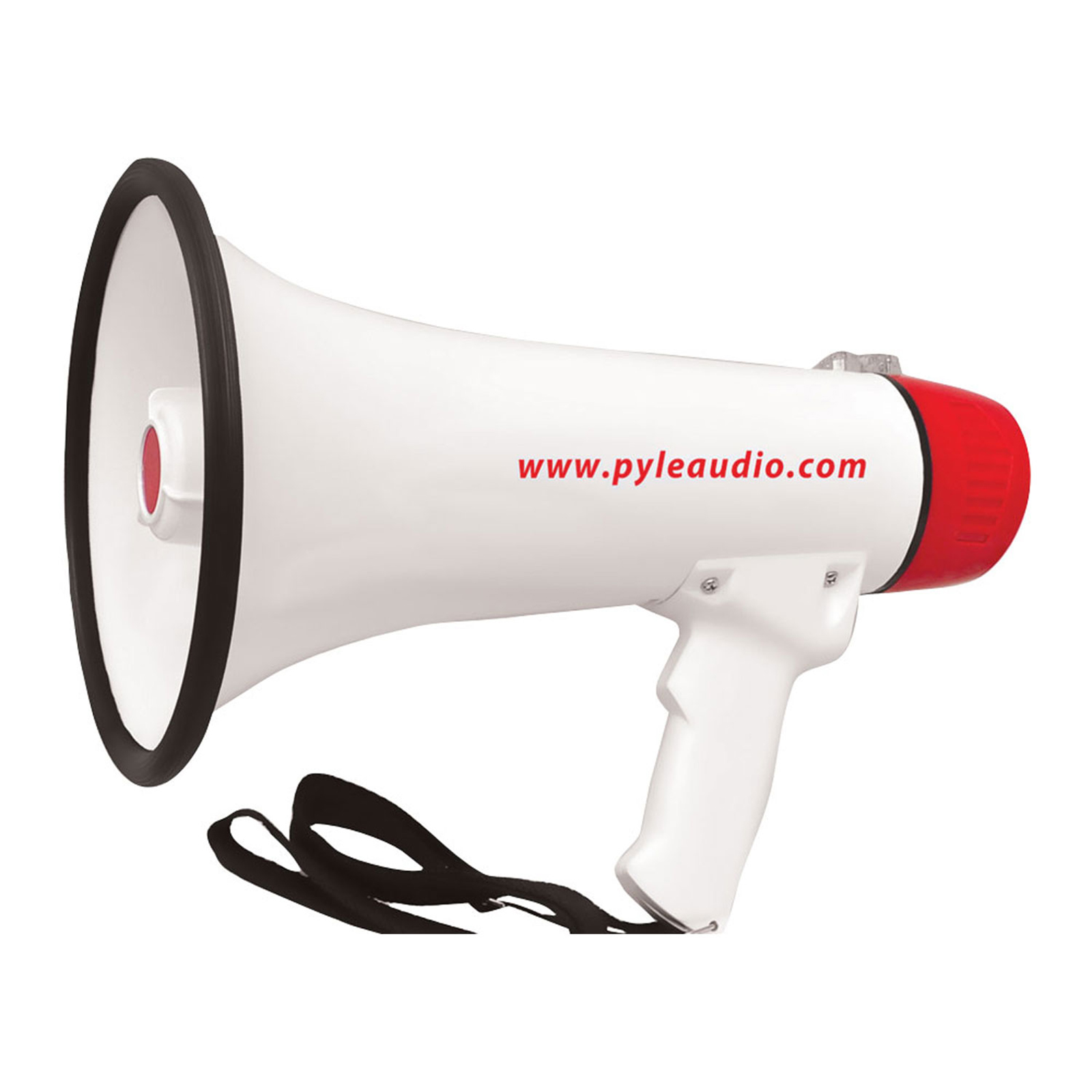 40 Watt Professional Megaphone/Bullhorn with Handheld Mic /Siren and Aux In For IOS/MP3 Devices