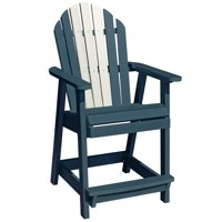 highwood® Eco-Friendly Recycled Plastic Hamilton Counter Deck Chair