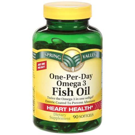 Spring valley fish oil enteric mini 645mg 100ct for Advantages of fish oil
