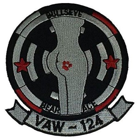 - USN NAVY CARRIER AIRBORNE EARLY WARNING SQUADRON VAW-124 PATCH BEAR ACES BULLS