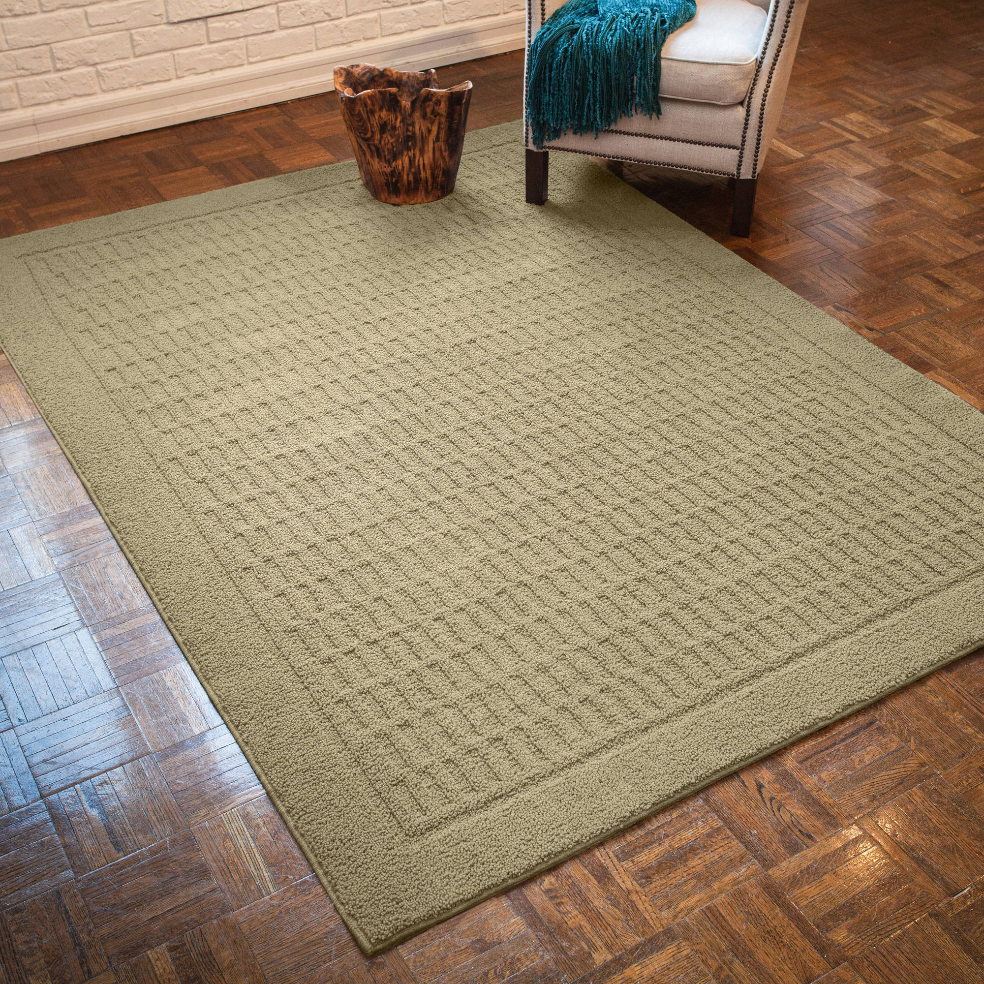 mainstays dylan nylon area rugs or runner collection image 1 of 4
