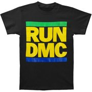 Run DMC Men's  Run DMC Brazil Colors T-shirt Black