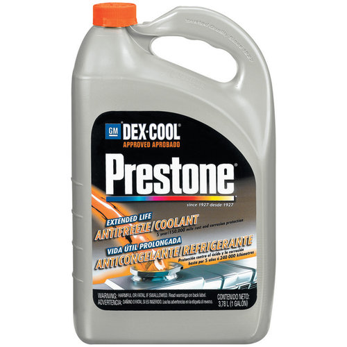 Prestone Dex-Cool Extended Life Antifreeze/Coolant, 1gal