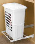 H&er Baskets Plastic Pull-Out With Tall H&er H&er w/Lid  sc 1 st  Walmart & Hamper Baskets Plastic Pull-Out With Tall Hamper Hamper w/Lid ... pezcame.com