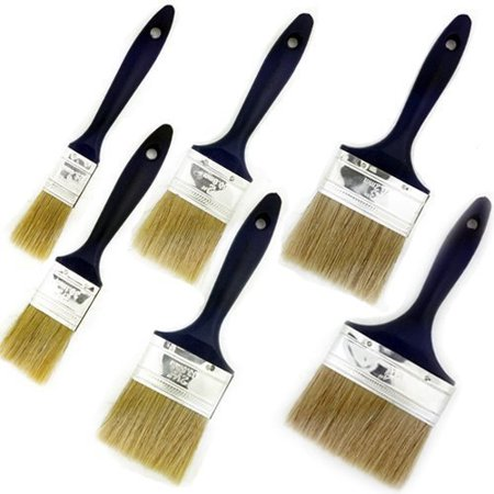 Wideskall® 6 Pieces Premium Synthetic Bristle Paint Brushes