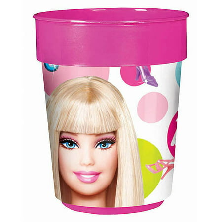 Barbie All Doll'd Party Favor Cup, 16 oz - Barbie Party Favors