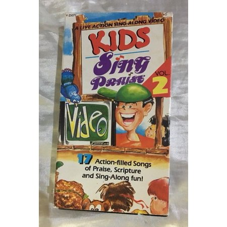 Kids Sing Praise-Vol. 2-VHS Movie-Brentwood Music Sing-Along Video (Brentwood Kids)