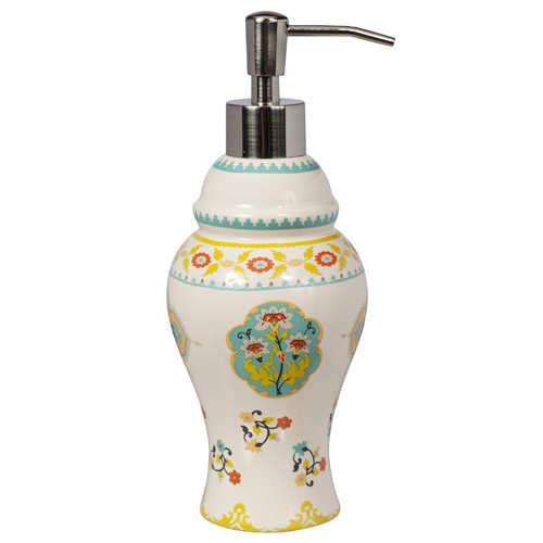 Creative Bath Sasha Bright Ceramic Lotion Dispenser