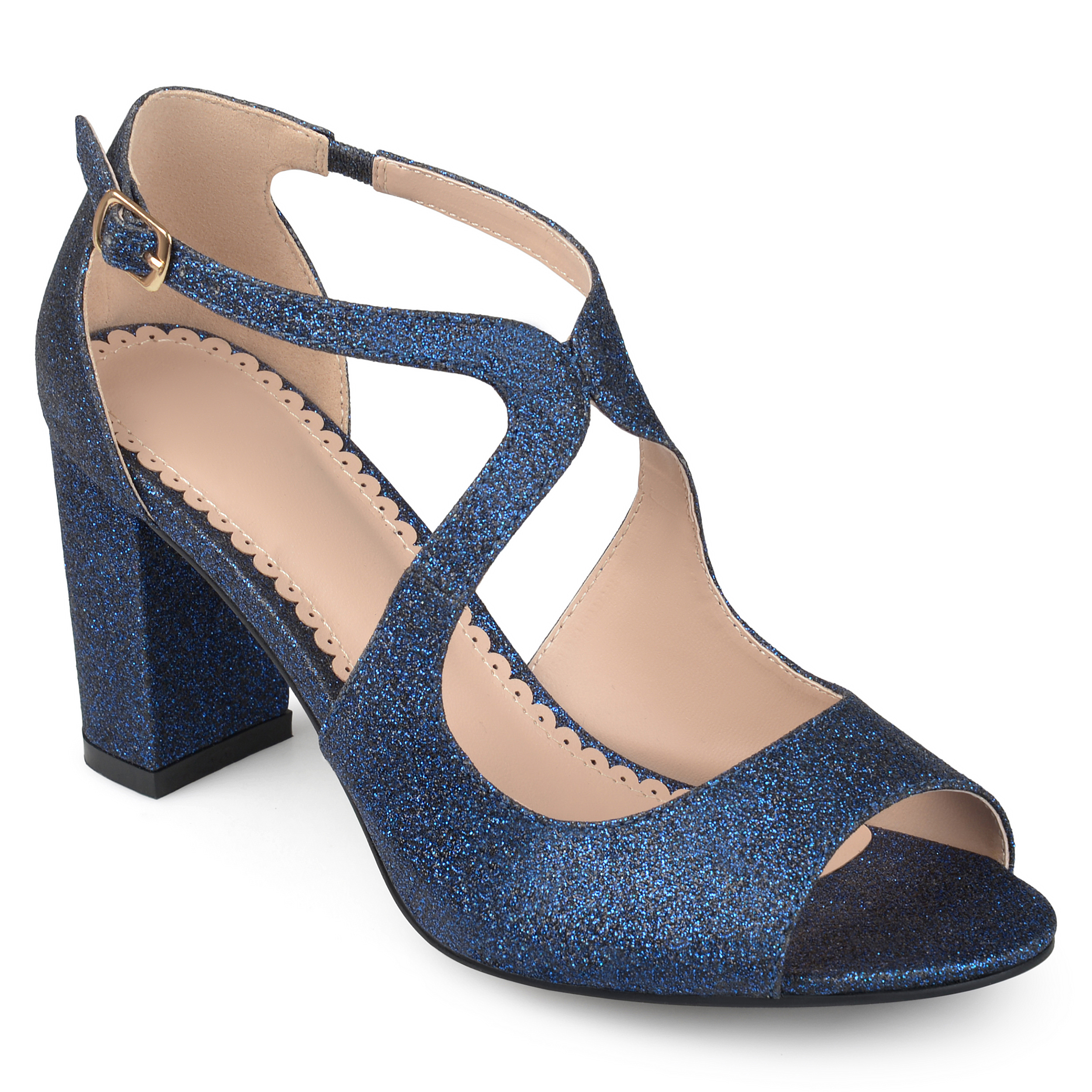 Blue Brinley Co. Womens Dress Shoes