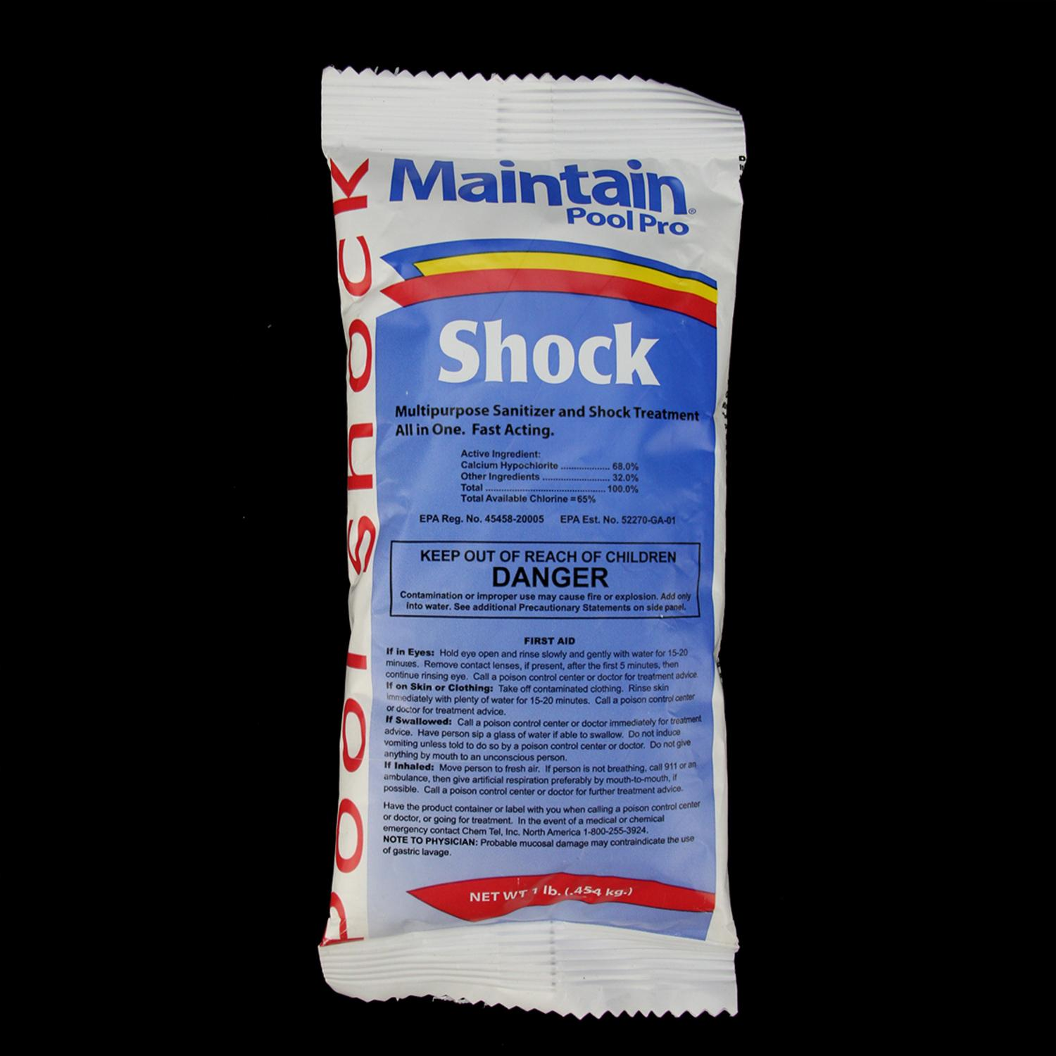 Maintain Pool Pro Multi Purpose Santizer and Shock Treatment 1lb