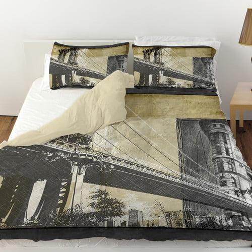 Manual Woodworkers & Weavers Metropolitan Collage 2 Duvet Cover