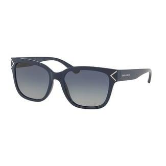 Tory Burch Women's TY9050 TY/9050 1370/4L Navy Fashion Square Sunglasses 55mm