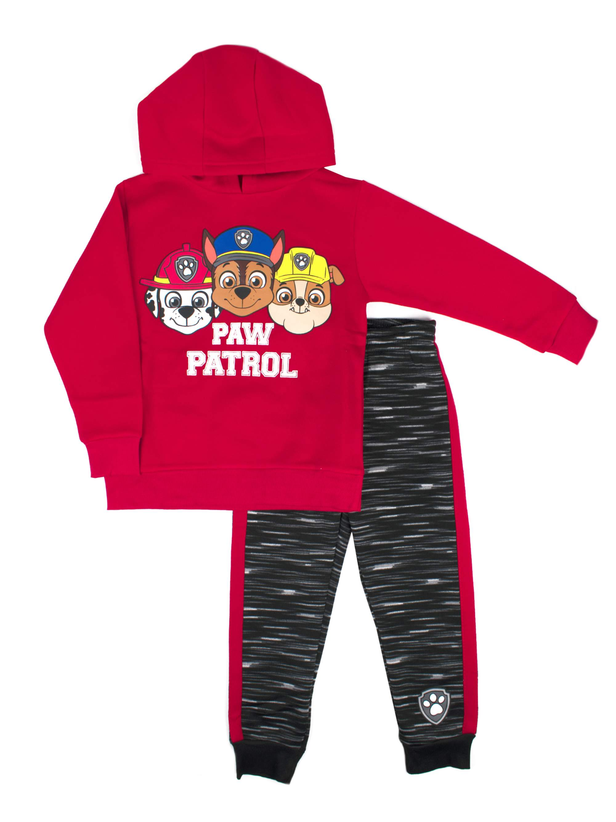 Graphic Pullover Hoodie & Jogger 2 Piece Set (Little Boys)