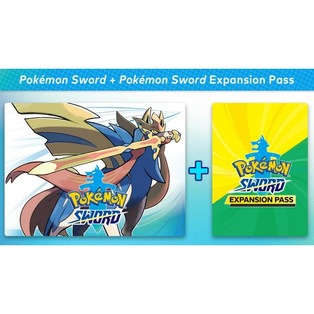 pokémon sword + pokémon sword expansion pass, nintendo