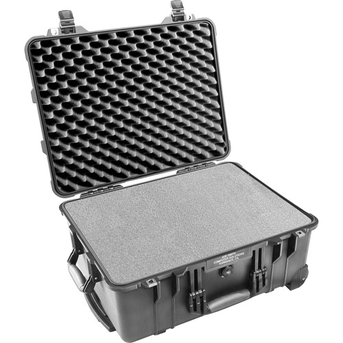 Pelican 1560-000-110 Protective Case With Foam Black