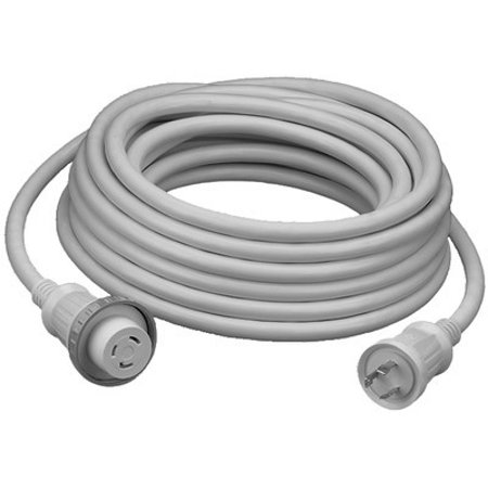 Hubbell Hbl61cm08w 30a 50 Foot White Shore Cord