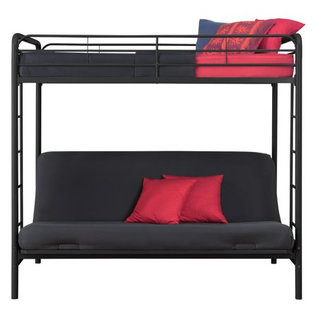Dhp Twin Over Futon Metal Bunk Bed Multiple Colors Best