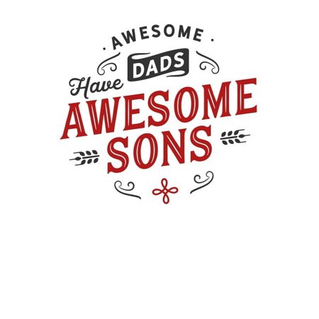 Awesome Halloween Cover Photos (Awesome Dads Have Awesome Sons: Family Album For Photos And Letters Lined Journal)