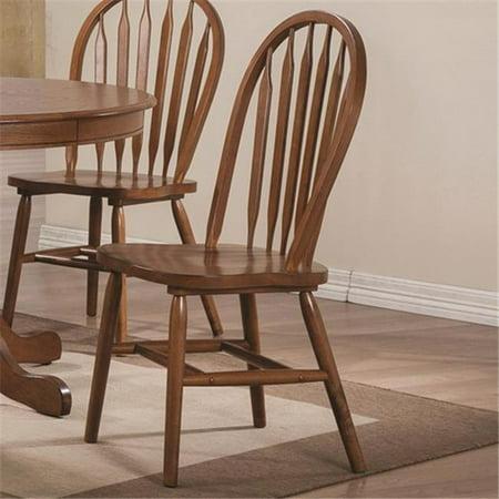 Phenomenal Coaster Company 102662 Freda Dining Side Chair With Arrow Back Warm Oak Camellatalisay Diy Chair Ideas Camellatalisaycom