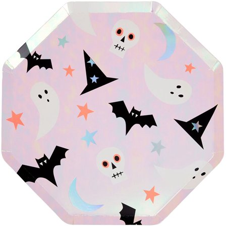 Divine Dinner Party Halloween (Meri Meri Halloween Icon Dinner Plate,)