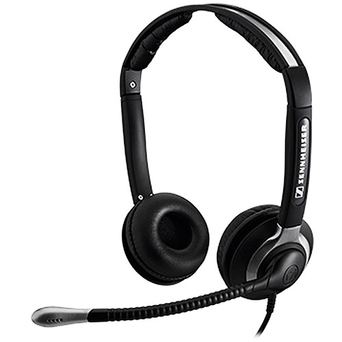 Sennheiser CC 550 IP Binaural Headset with Ultra Noise Canceling Microphone