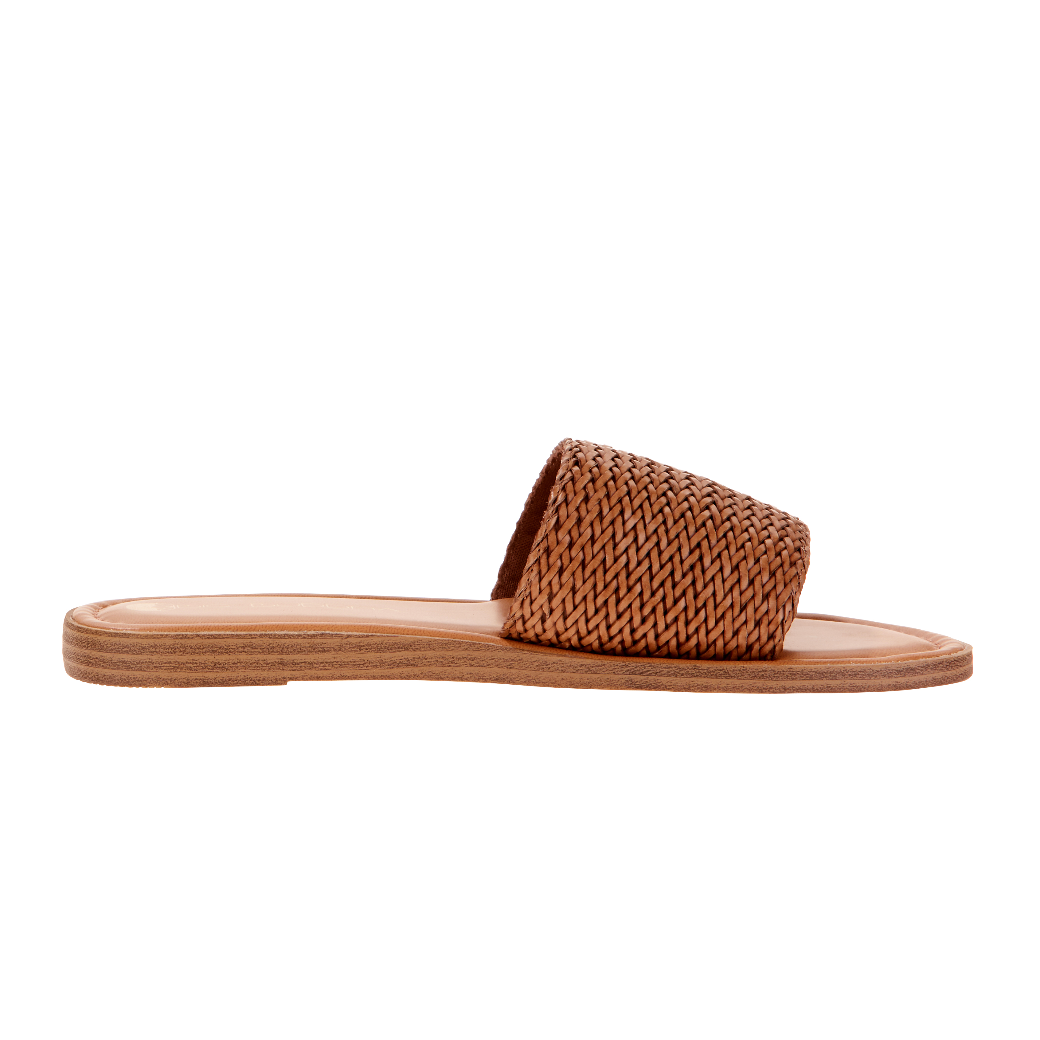 Big Buddha Women's Woven Slide Sandal by Big Buddha