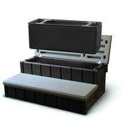 Confer Spa Step w/ Storage - Gray