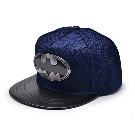 009a2313d New Unisex Batman Hip-Hop Cosplay Snapback Adjustable Baseball Cap Hat Flat  Hat