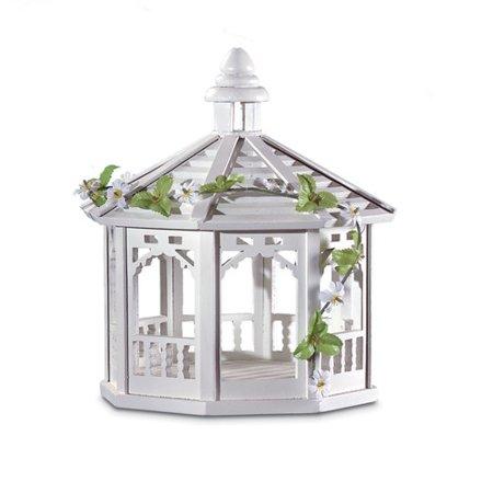 (Zingz & Thingz Sweet Pavilion Decorative Tray Bird Feeder)