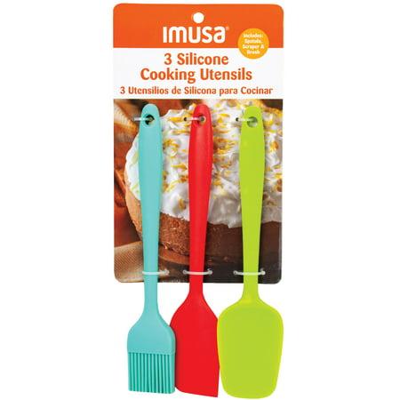 Imusa Silicone Utensil Set, Best Brands, Spatual set,