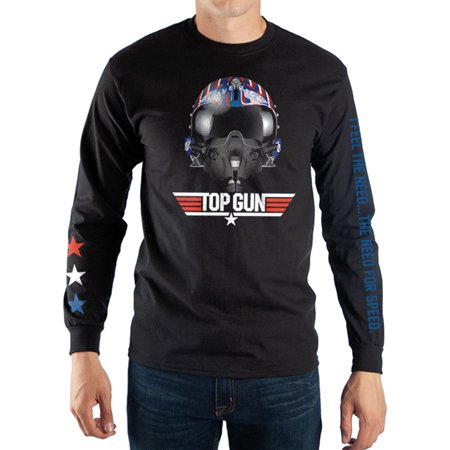Top Gun Need For Speed Men's and Big Men's Long Sleeve Graphic T-shirt