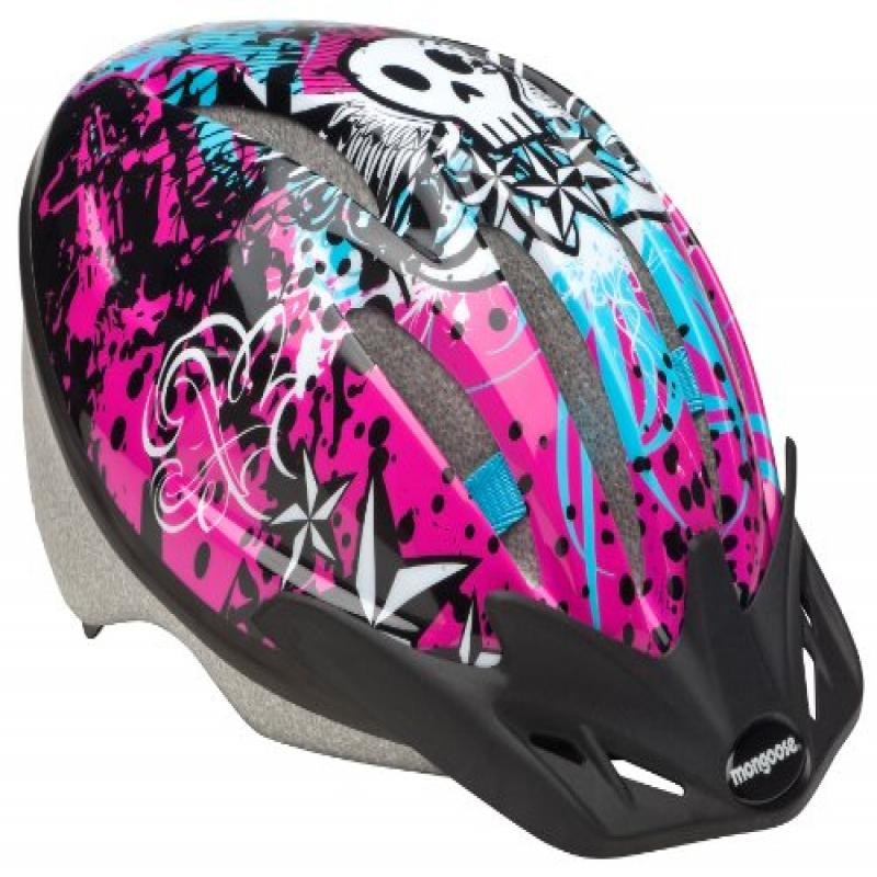 Mongoose Razor Kid's Microshell Helmet, Model MG76424-2 by