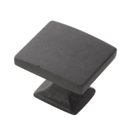 0.562 x 0.75 in. Knob Forge, Black Iron (New Iron Forge 33mm Knob)
