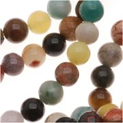 Gemstone Bead Mix 4mm Round Beads /15.5 Inch Strand
