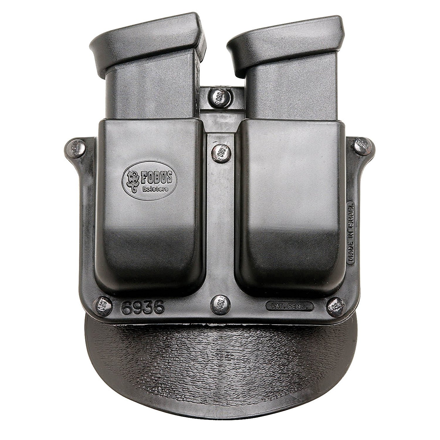 Paddle FO6936P Double Mag Pouch, fits S;W M;P .45 cal, Gl...