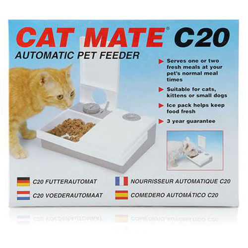 ANI MATE - Cat Mate C20 Automatic Pet Feeder - 1 Feeder