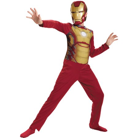 Iron Man 3 Mark 42 Child Halloween Costume - One Size