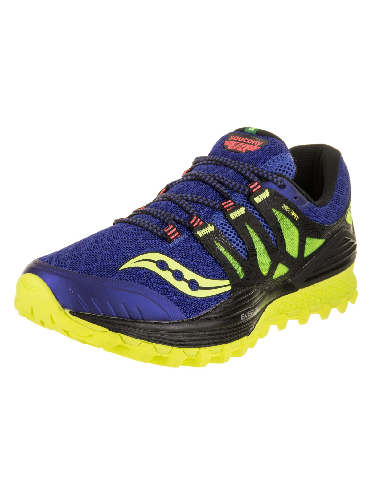 Saucony Men's Xodus Iso Trail Runner Shoe (12.5) by Saucony