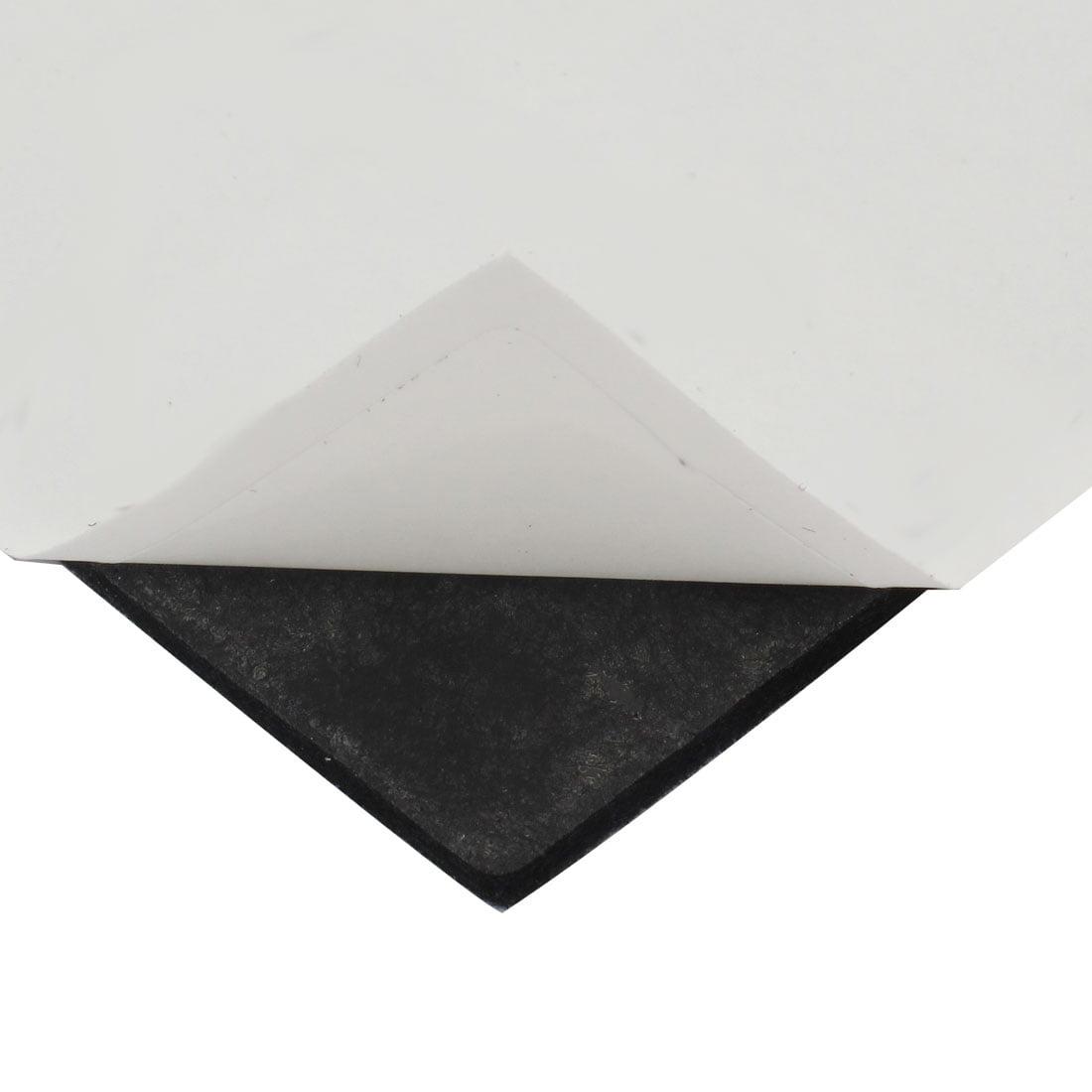 Table Square Anti Slip Self Furniture Felt Pads Cover Black 38 x 38mm 112pcs - image 1 of 2