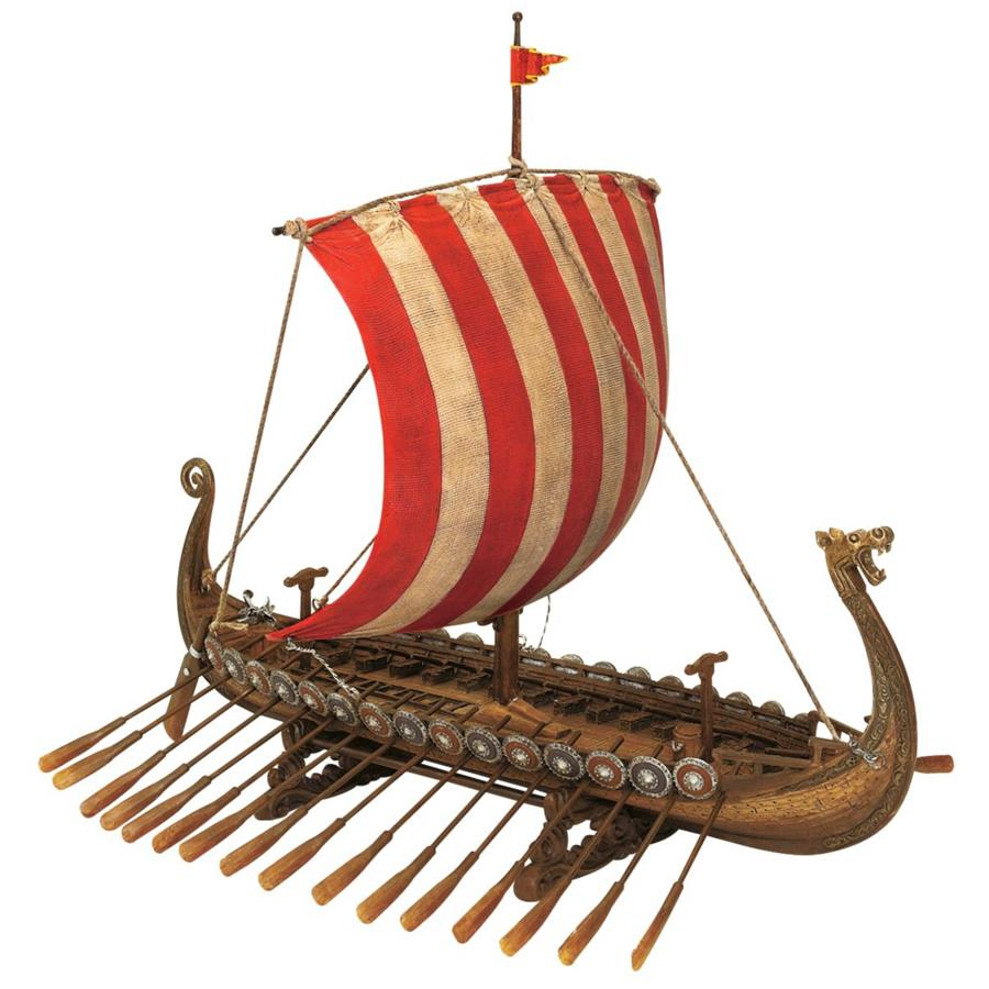 Design Toscano Drekar, the Viking Longship Collectible Museum Replica