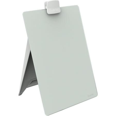 Quartet Glass Dry-Erase Desktop Easel, 9