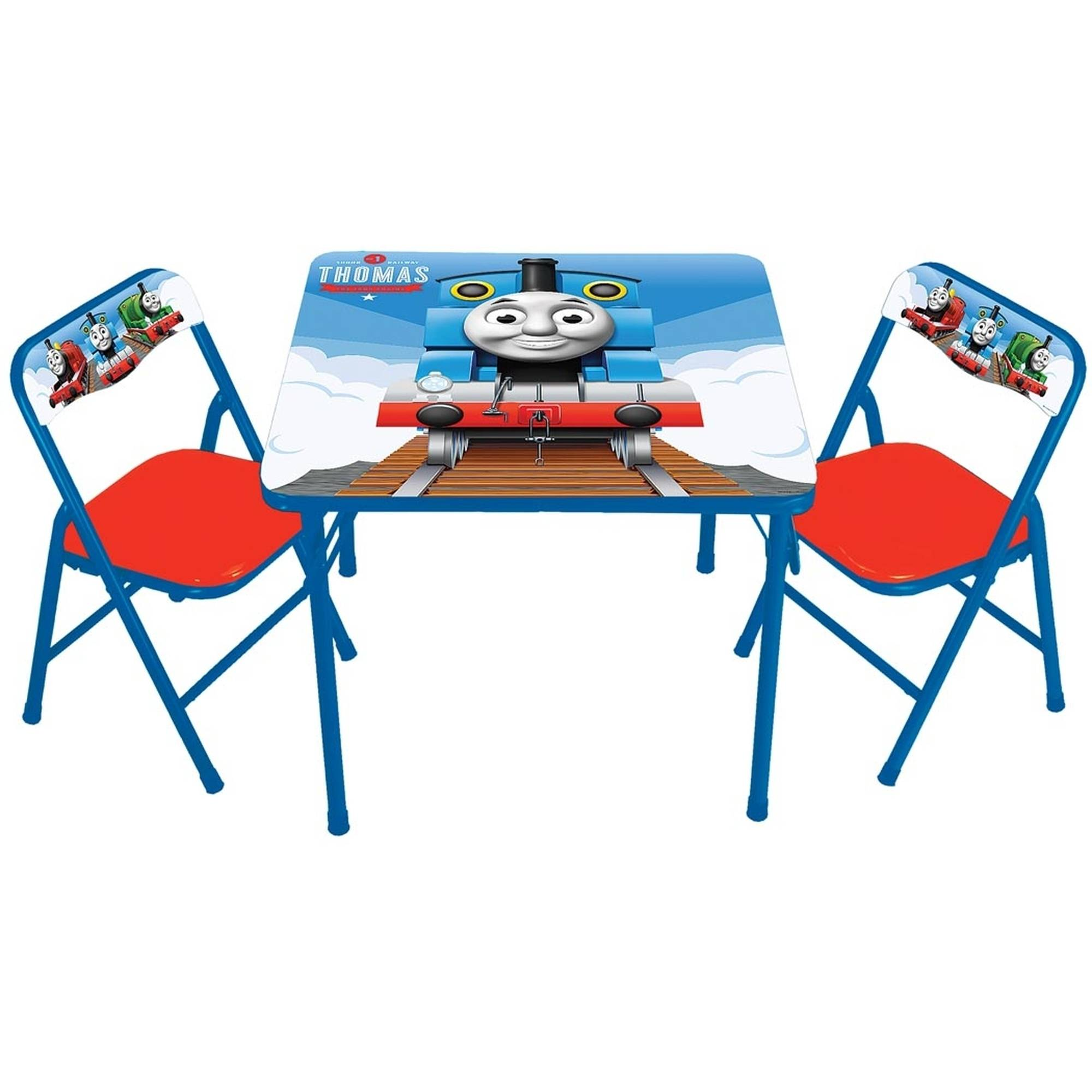 Thomas the Tank Activity Table and 2 Chairs Set