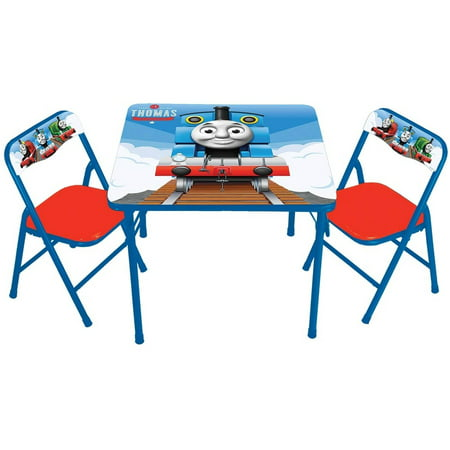 thomas the tank activity table and 2 chairs set. Black Bedroom Furniture Sets. Home Design Ideas