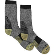 Dickies Men's 1pk Kevlar Steel Toe Crew Socks, Size 6-12