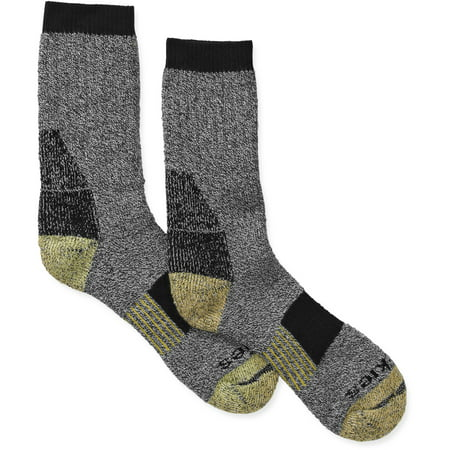 Men's Kevlar Steel Toe Crew Socks, 1-Pack