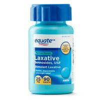Equate Maximum Strength Sennosides USP Laxative Tablets, 25 mg, 90 Ct